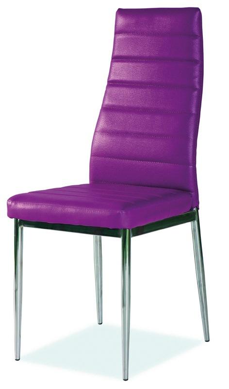 SIGNAL H-261 jedálenská stolička - fialová