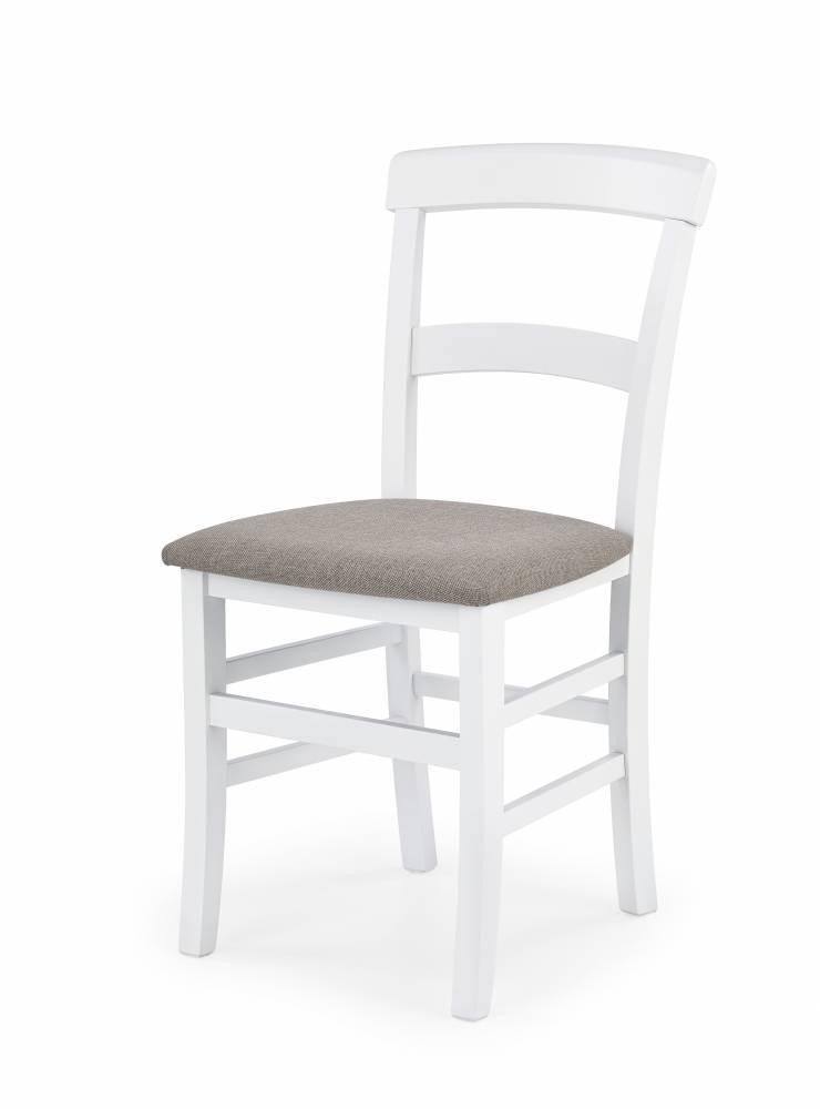 Jedálenská stolička Tapo (biela + béžová)