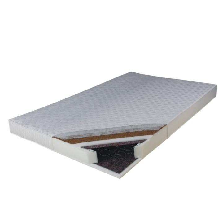 Pružinový matrac Kokos Medium 200x140 cm