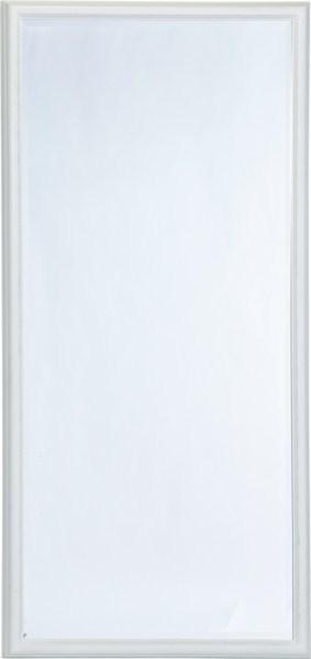 Nástenné zrkadlo WUSSE - biela/strieborná