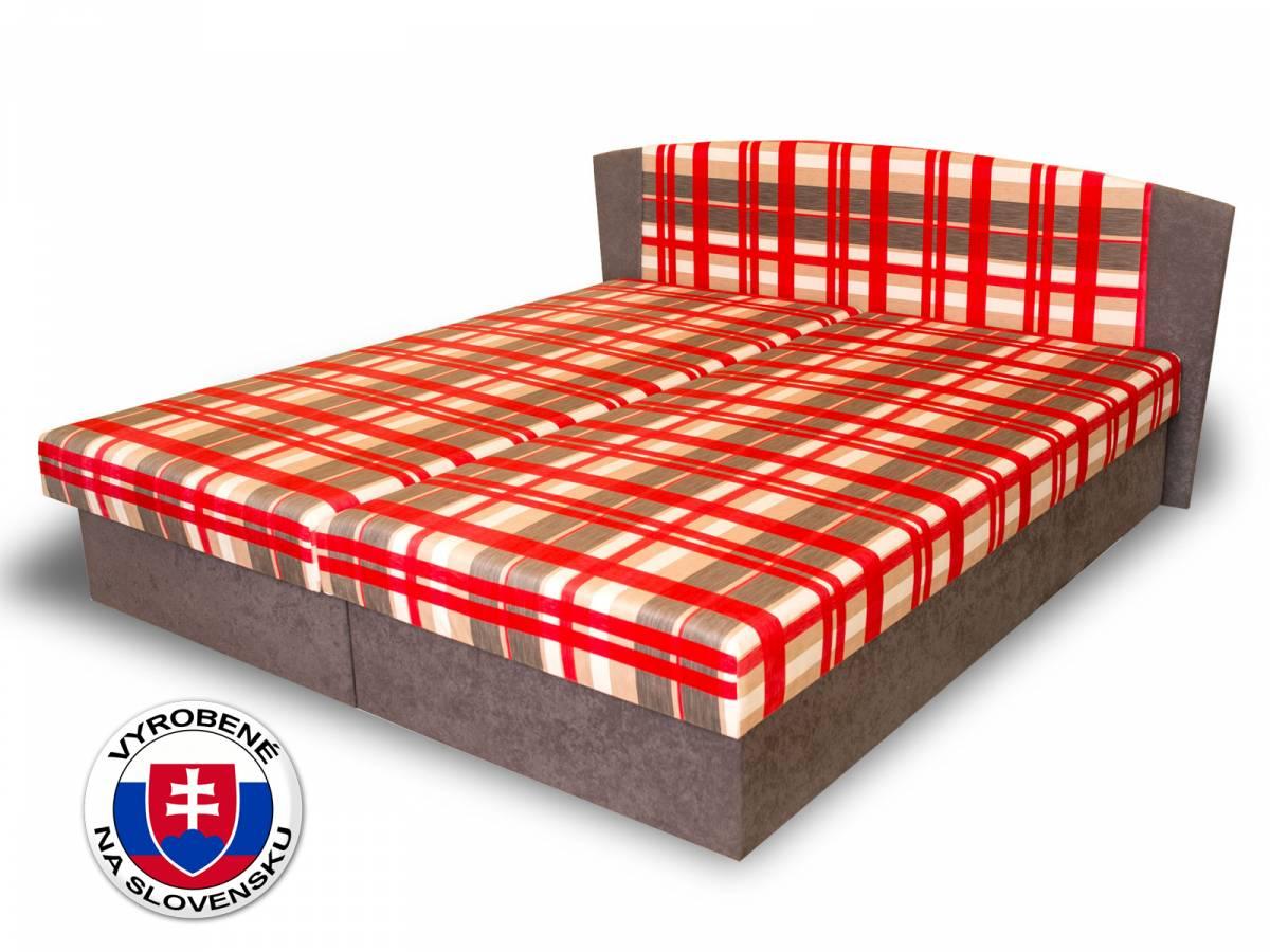 Manželská posteľ 160 cm Benab Laura (s roštami a matracmi)