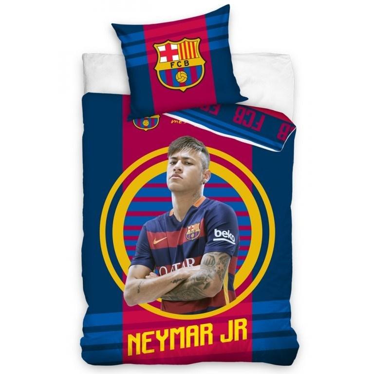 Fotbalové obliečky Neymar JR, 140 x 200 cm, 70 x 90 cm