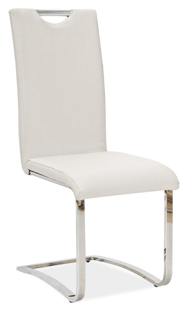 >> Jedálenská stolička HK-790, biela