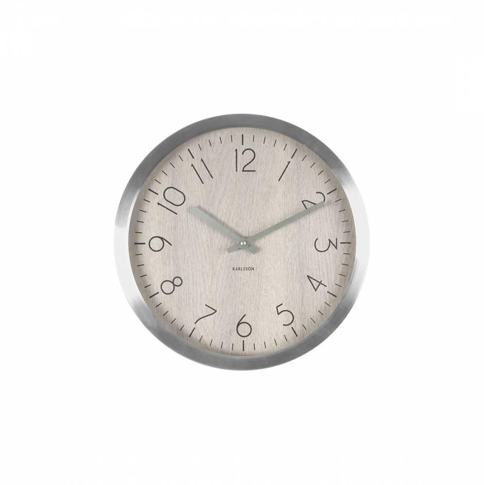 Karlsson 5609WH Designové nástenné hodiny, 35 cm