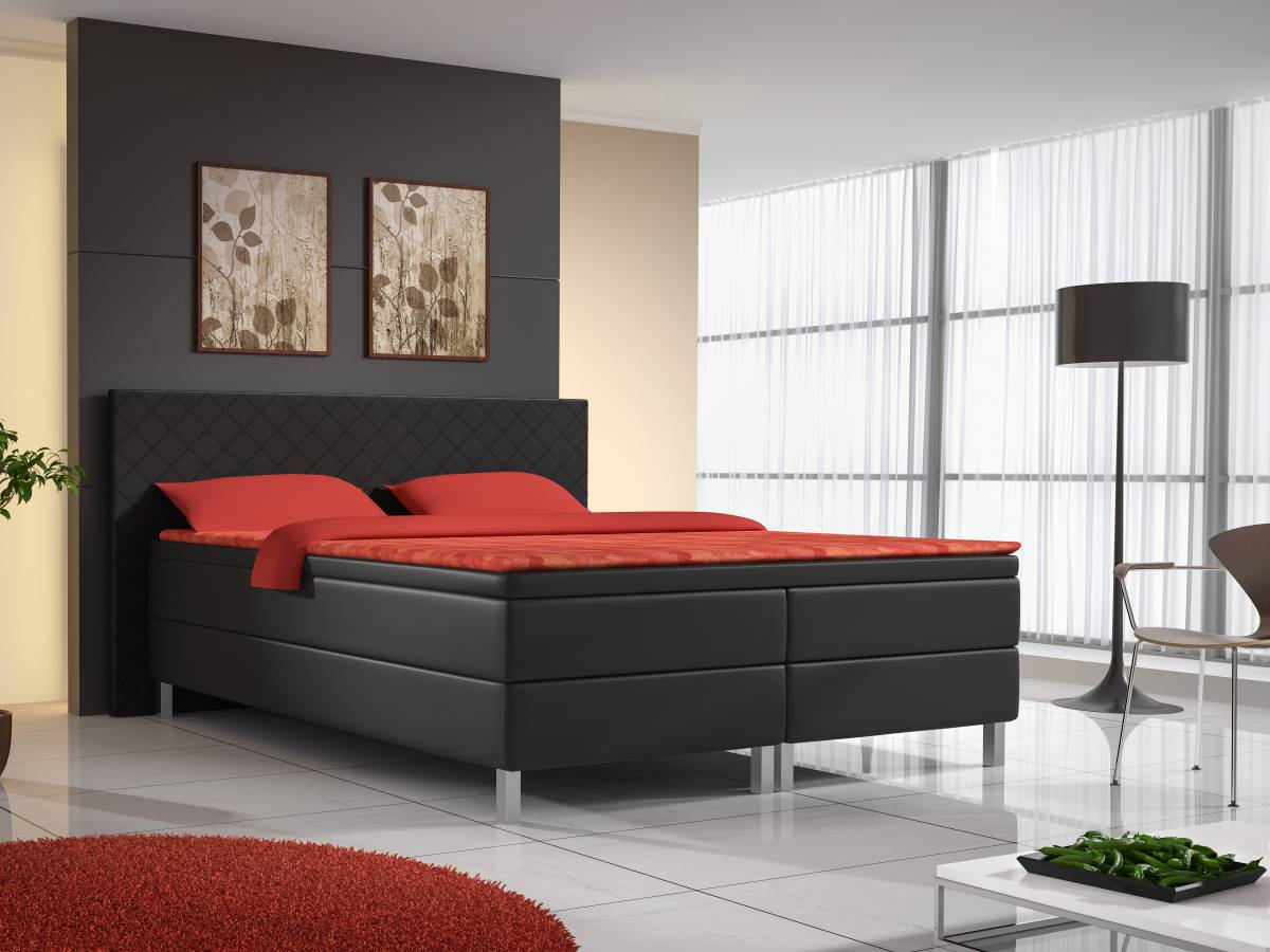 Manželská posteľ Boxspring 160 cm
