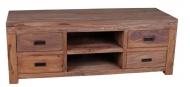 Furniture nábytok  Masívny TV stolík z Palisanderu  Mohsen  140x45x60 cm
