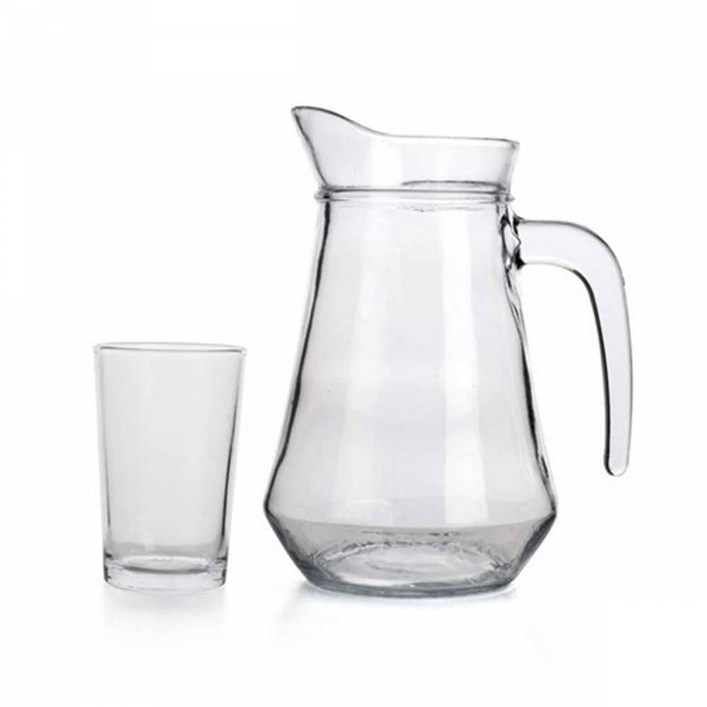 Set džbánu + 6 pohárov SUPER VALUE,