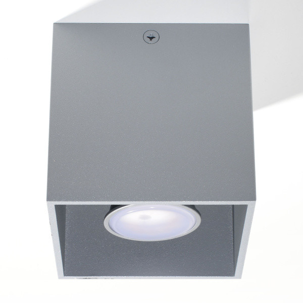 Stropné svetlo Nice Lamps Geo 1 Grey
