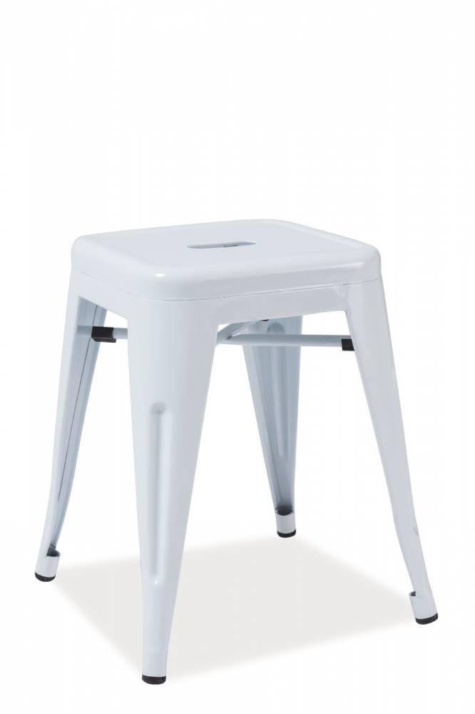 Barová stolička Spot (biela)