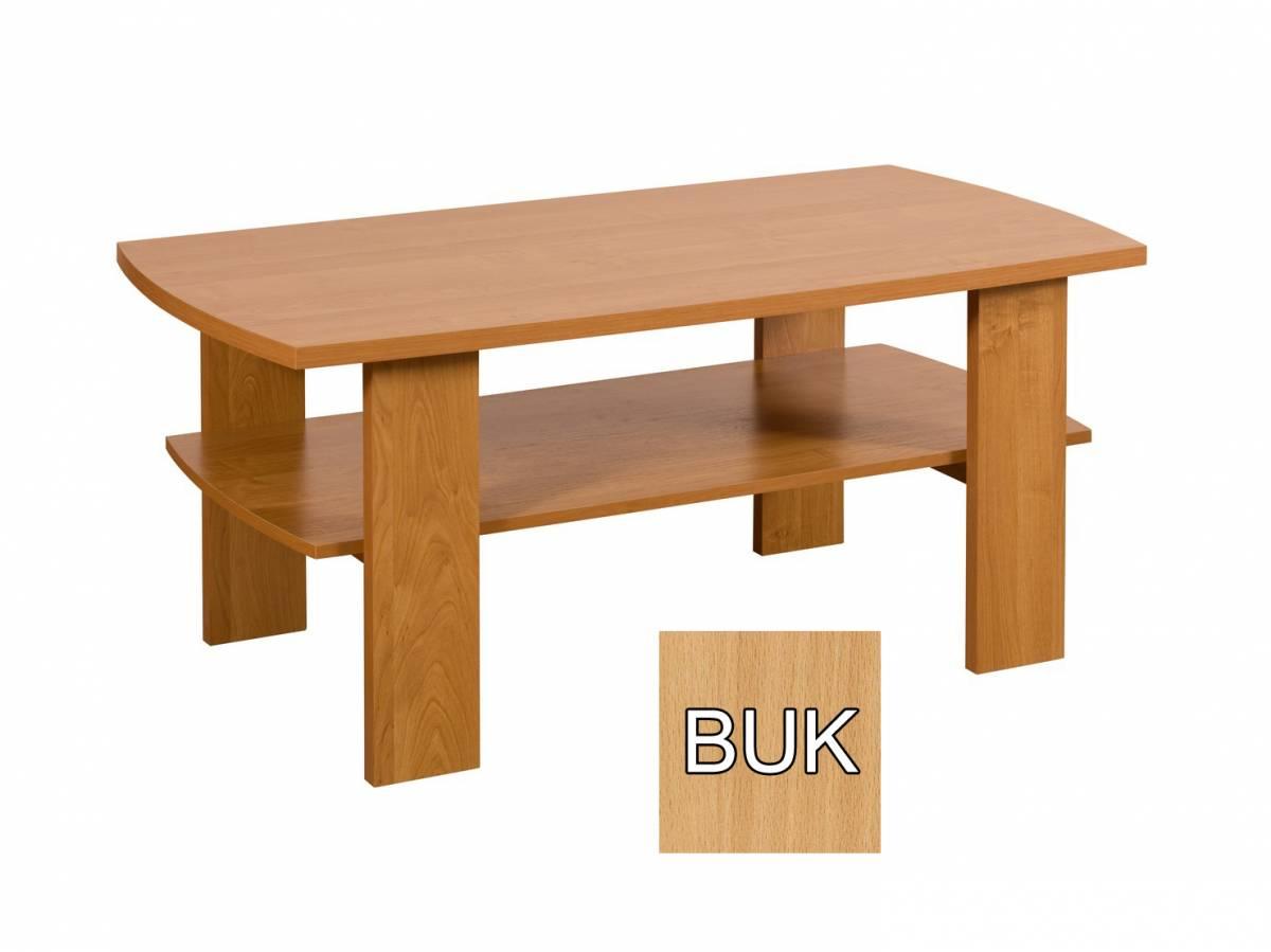 Konferenčný stolík Sara (buk) *výpredaj