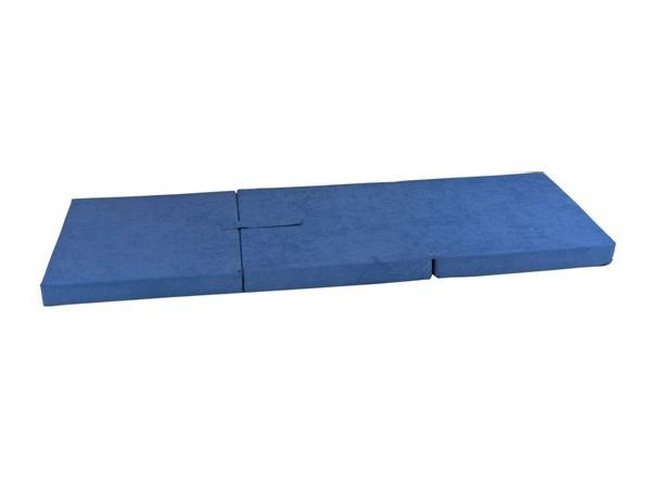 Rozkladací penový matrac Tomy (modrý)