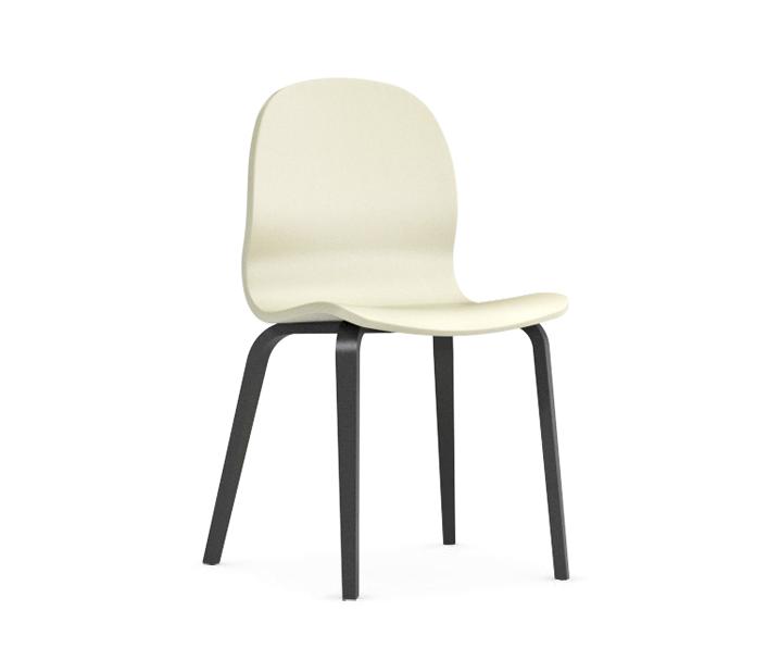Jedálenská stolička Possi krémová   Farba: krémová/šedý wolfram