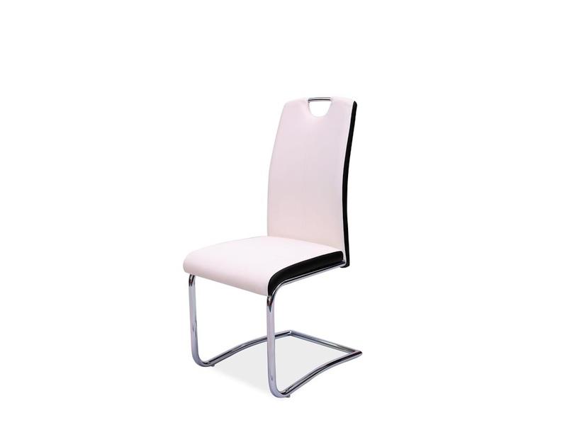 HK-341 jedálenská stolička, biela
