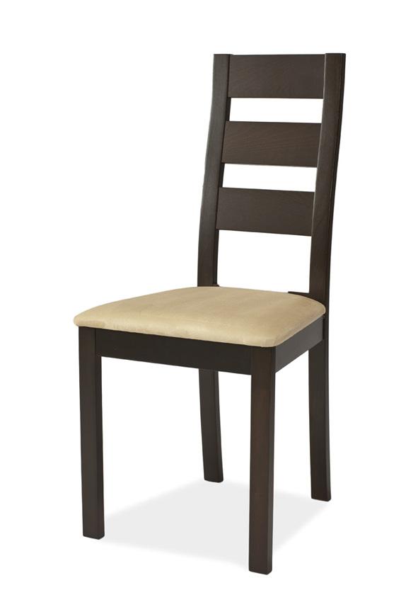 KB-44 jedálenská stolička, wenge/krémová
