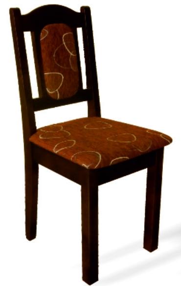 Jedalenská stolička K1 orech
