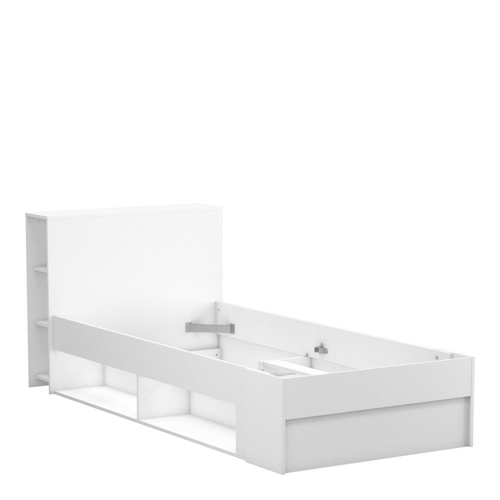 Biela posteľ Demeyere Orphee, 90 × 190/200 cm