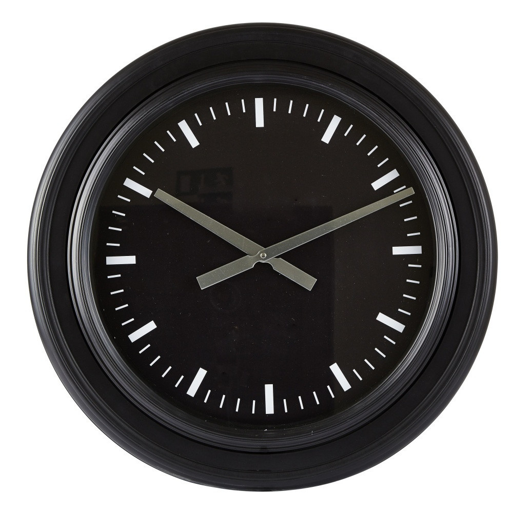 Nástenné hodiny KJ Collection Basicos, 60 cm