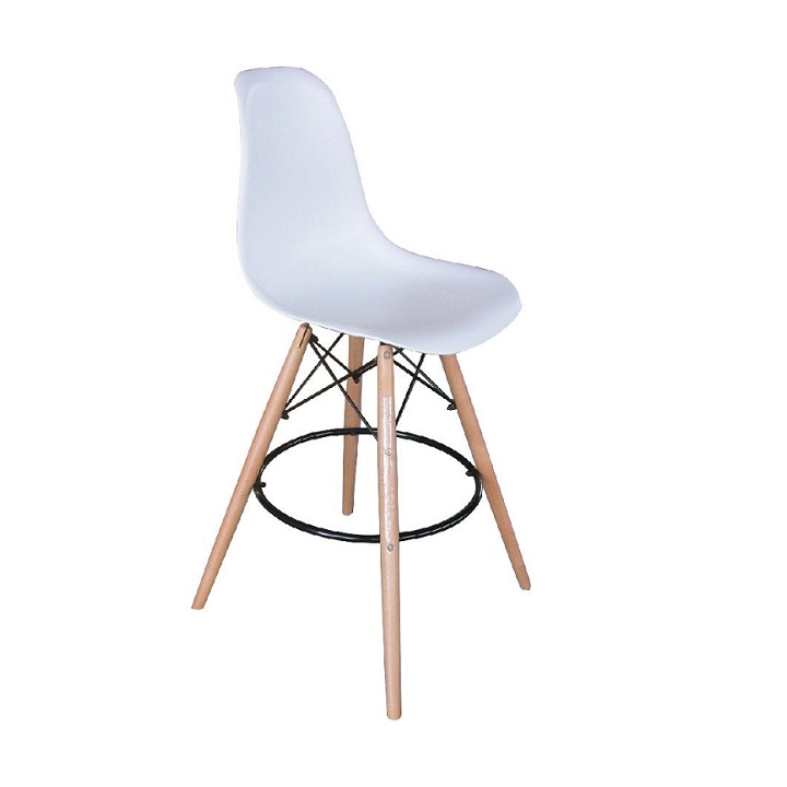 Barová stolička Carby (biela)