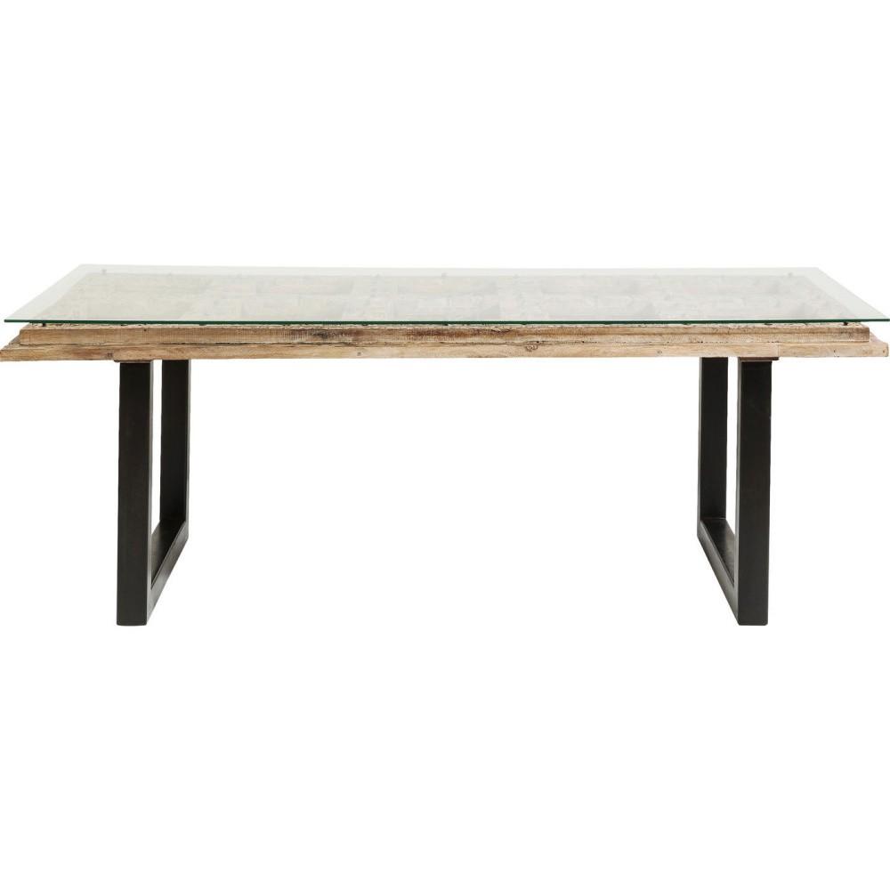 Jedálenský stôl s doskou z mangového dreva Kare Design Kalif, 180 x 90 cm