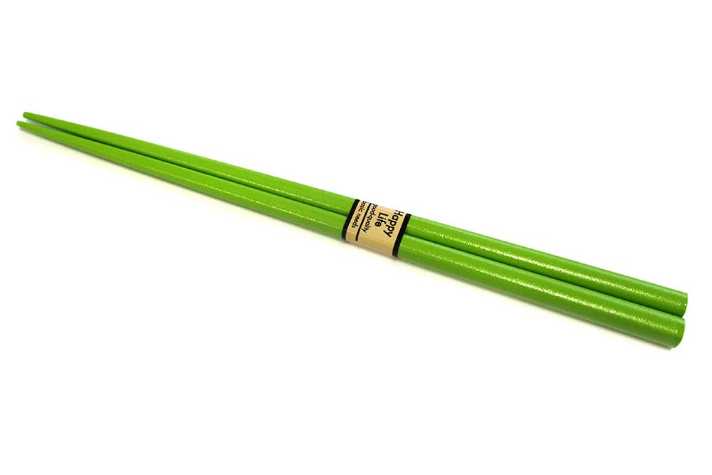 Lakované jedálne paličky CHOPSTICKS zelené