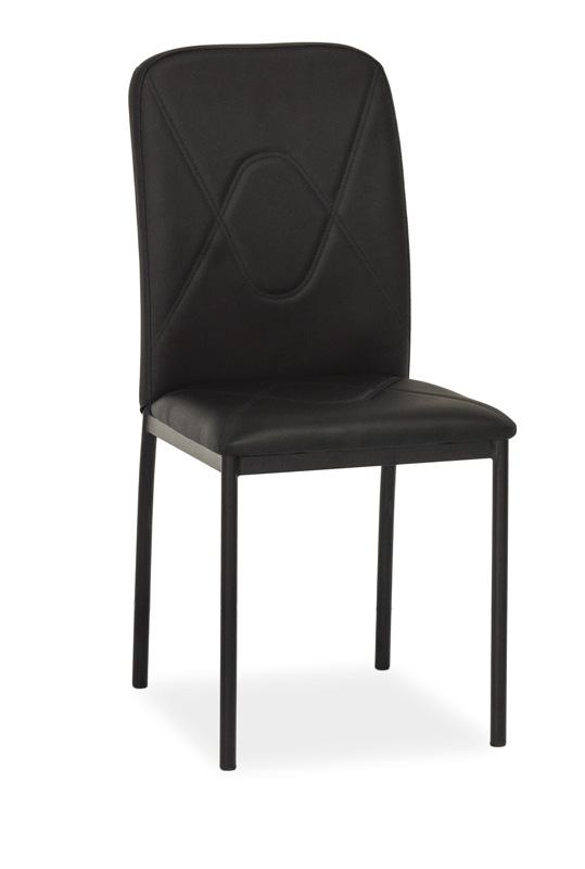 SIGNAL H-623 jedálenská stolička - čierna