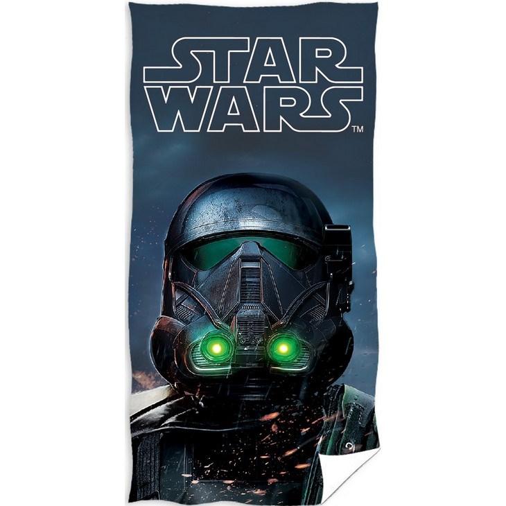 TipTrade Osuška Star Wars dark, 70 x 140 cm
