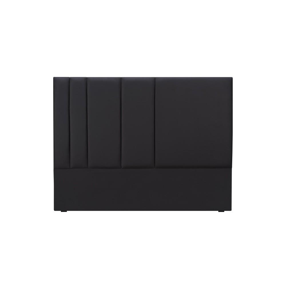 Čierne čelo postele Mazzini Sofas Dahlia, 120 × 140 cm