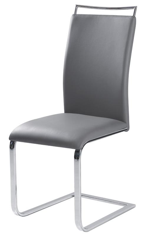 Jedálenská stolička HK-334, šedá