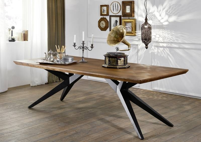 Bighome - PURE NATURE Jedálenský stôl 270x105 cm, lakovaná akácia