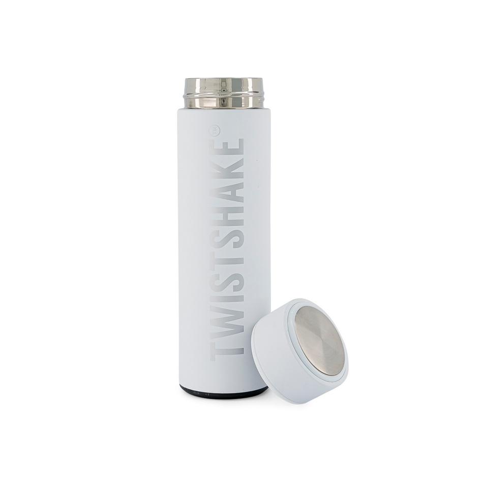 Twistshake Termoska 420 ml, biela