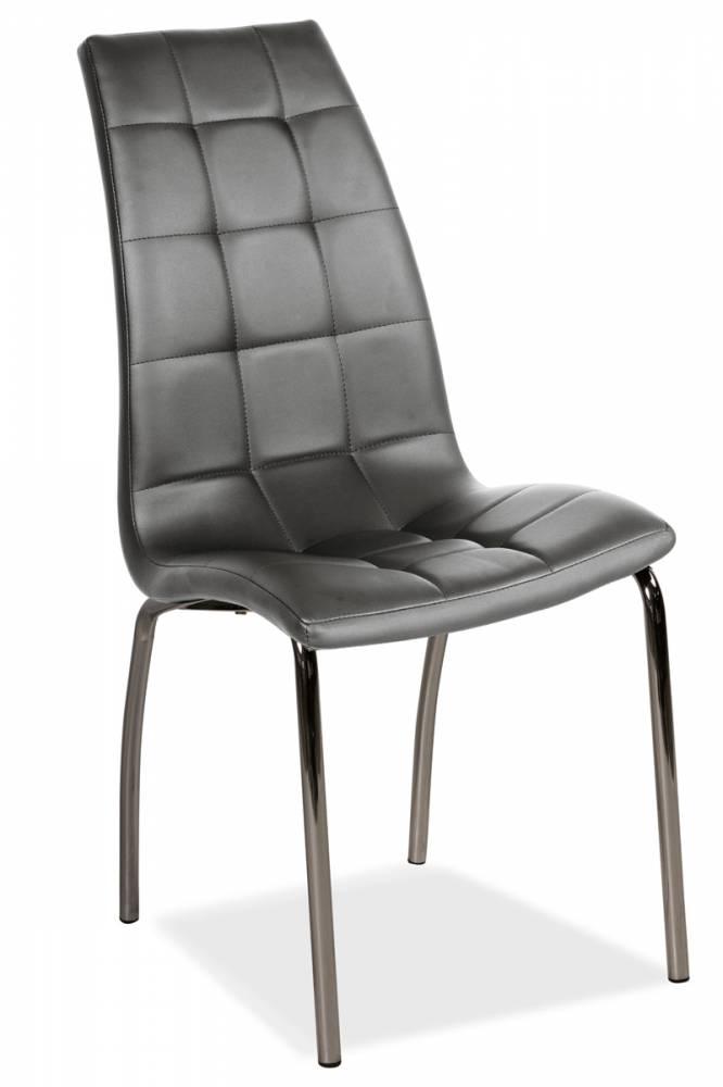 Jedálenská stolička HK-104, sivá