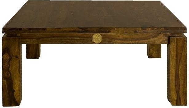 METRO LIFE Sheesham konferenčný stolík , masívne palisandrové drevo #175