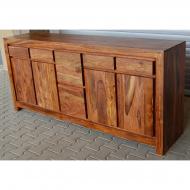 Furniture nábytok  Masívna Komoda z Palisanderu Omíd  200x45x90 cm