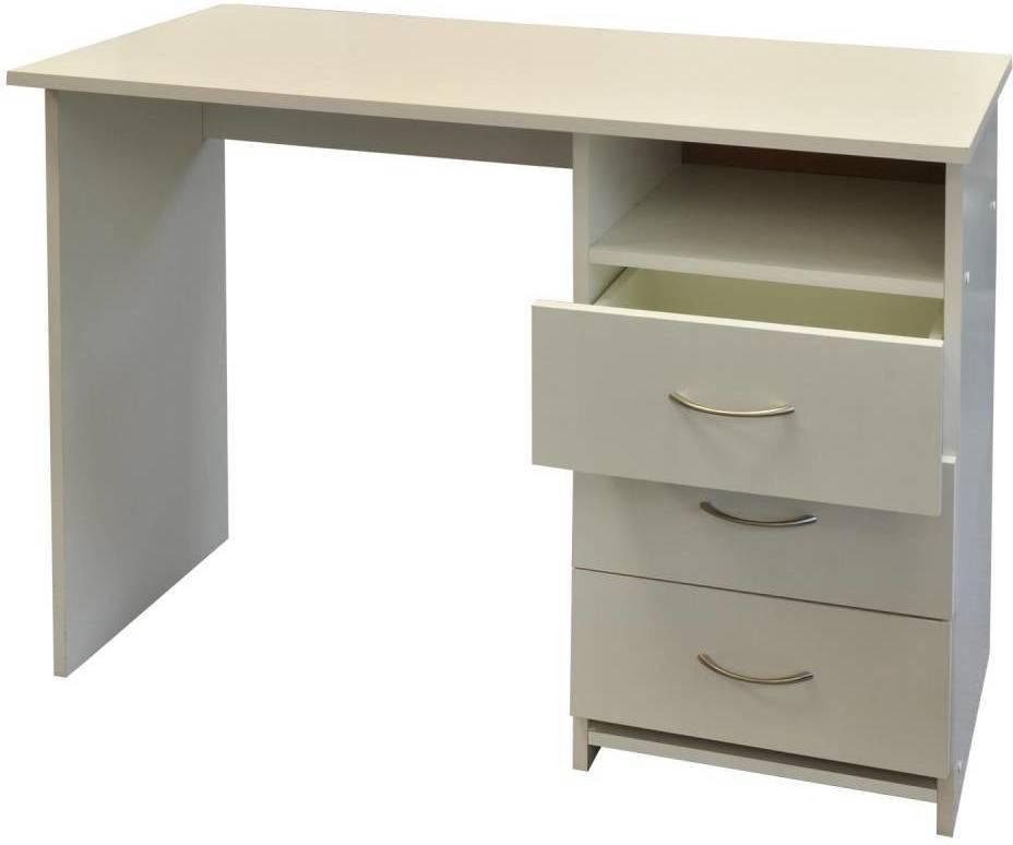 Písací stôl 44 biely