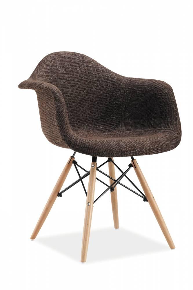 Jedálenská stolička Bono (hnedá)