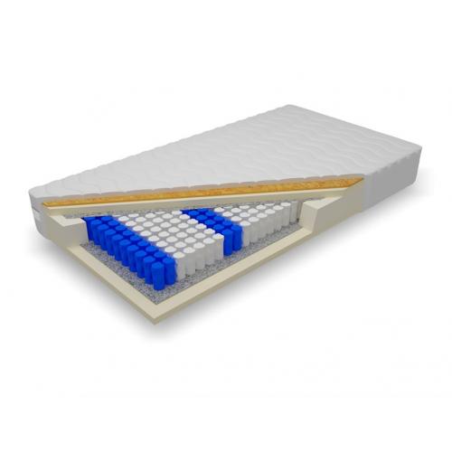 Biely nábytok Matrac Morfeus 140, ortopedický, taštičkový