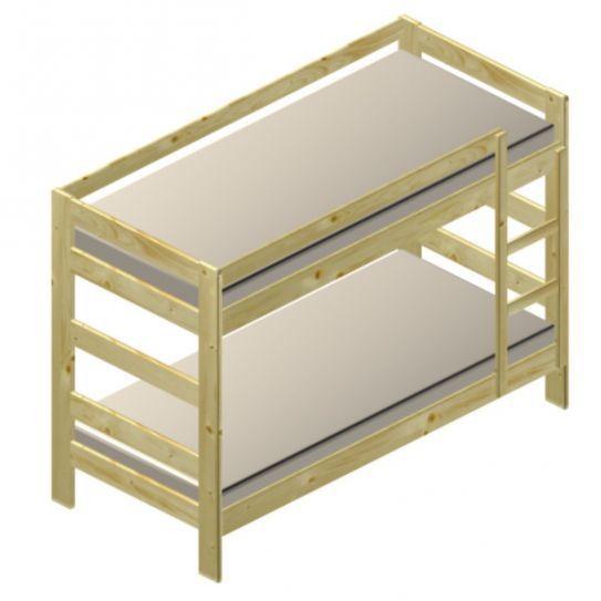 Poschodová posteľ Taťka Model K52 PEDRO