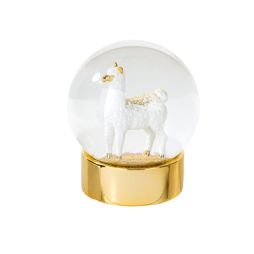 Snežiaca dekorácia s lamou Talking Tables, ⌀ 10 cm