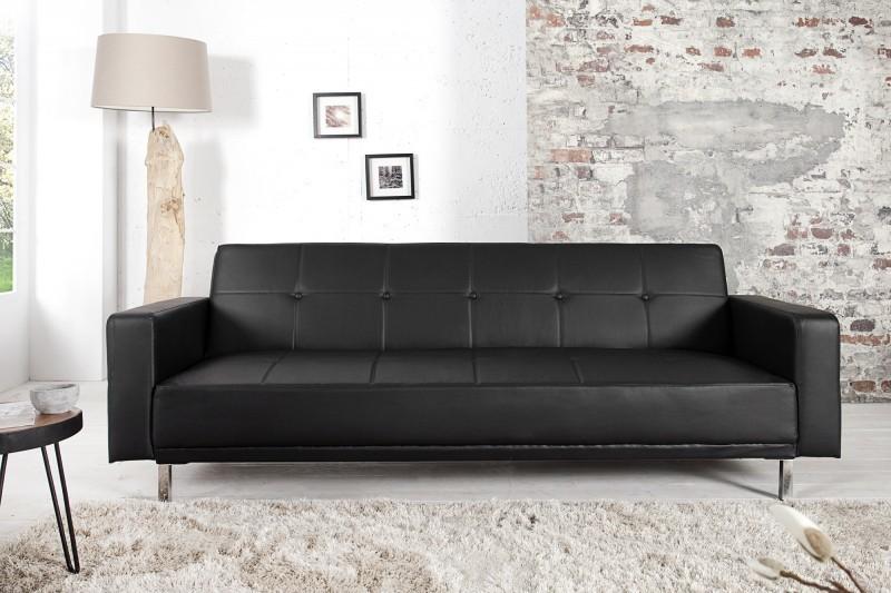 Sedačka MANHATAN 215 cm - čierna