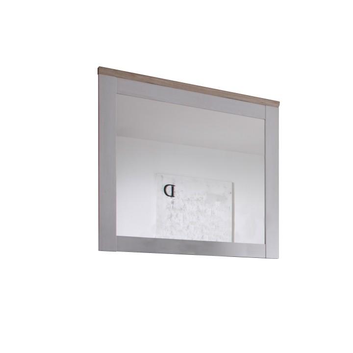 TEMPO KONDELA PROVENSAL zrkadlo - biela / dub san remo