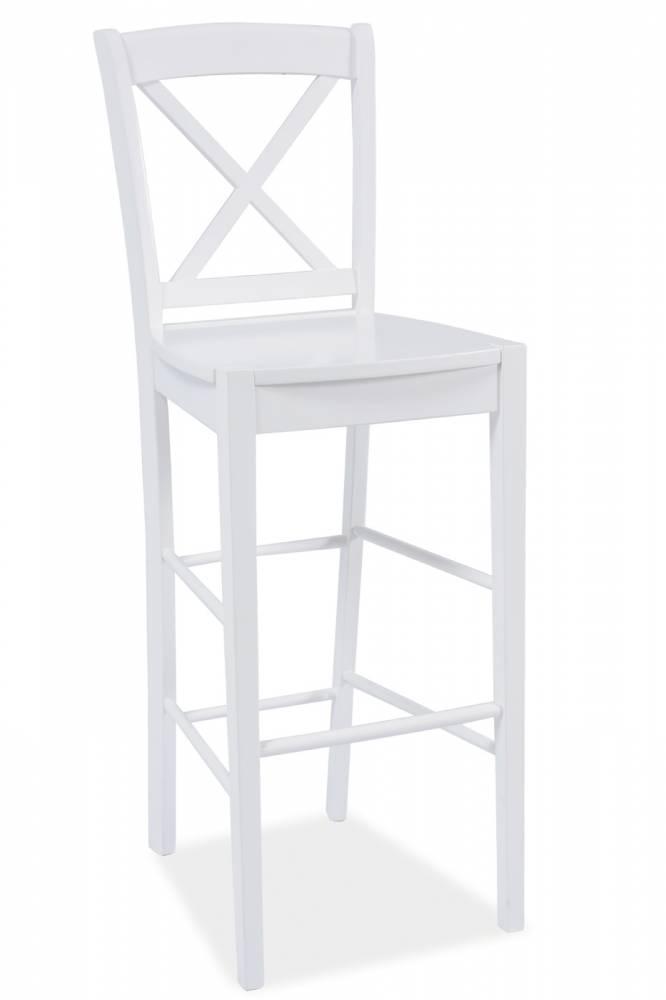 Barová stolička CD-964 (biela)