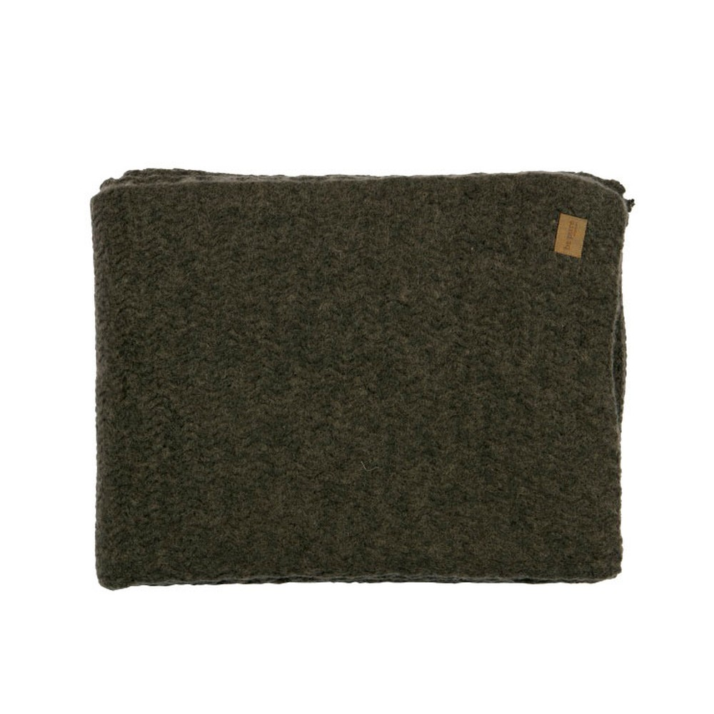 Sivohnedá prikrývka De Eekhoorn Second Skin, 130×170cm