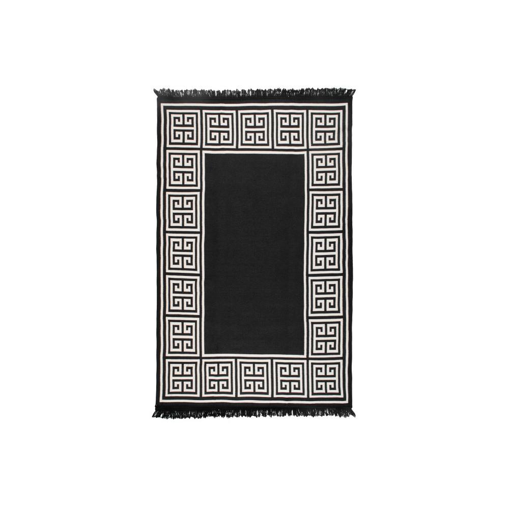 Obojstranný béžovo-čierny koberec Home De Bleu, 160 x 250 cm