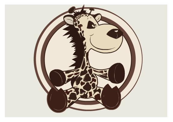 Detská izba Filip / Havana   Farba: Havana, Dekor: Žirafa 8
