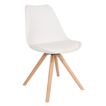 Biela stolička Tryck