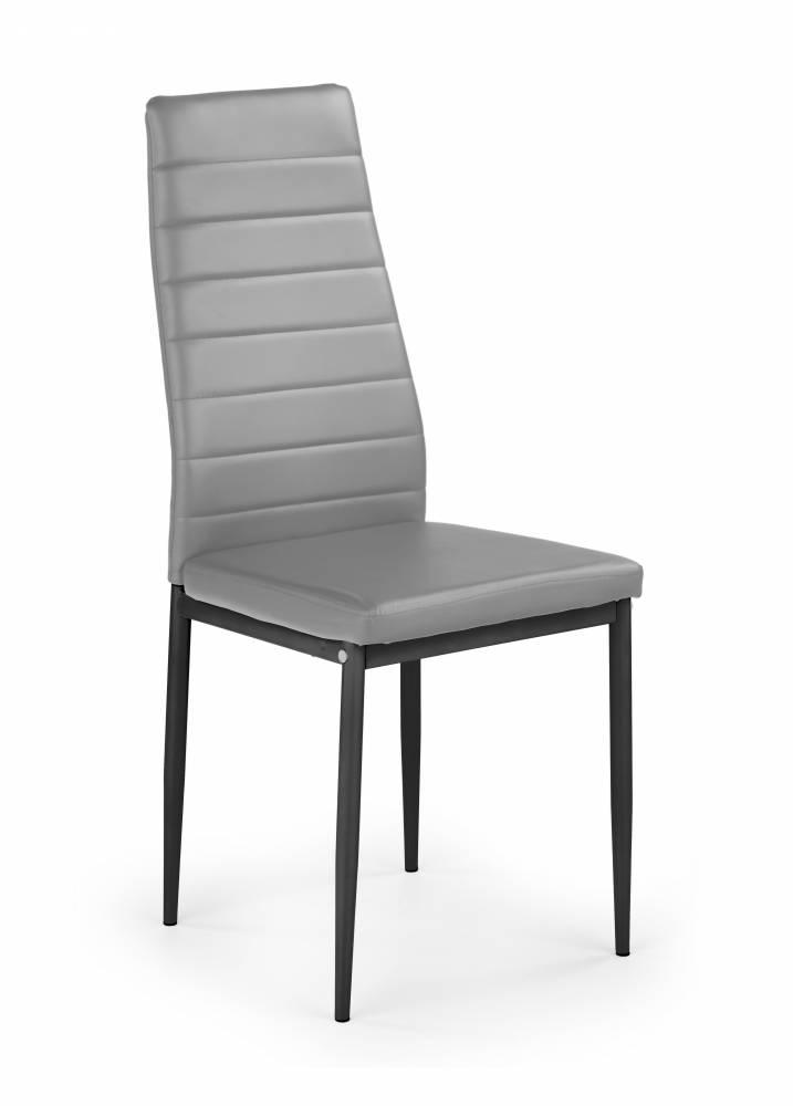 Jedálenská stolička K70 (čierna + sivá)