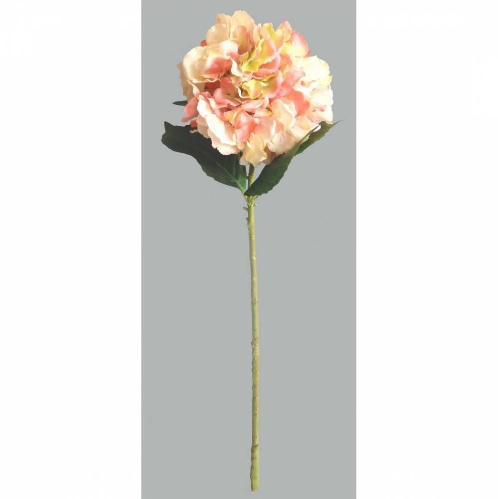 Umelá kvetina Hortenzia, ružová