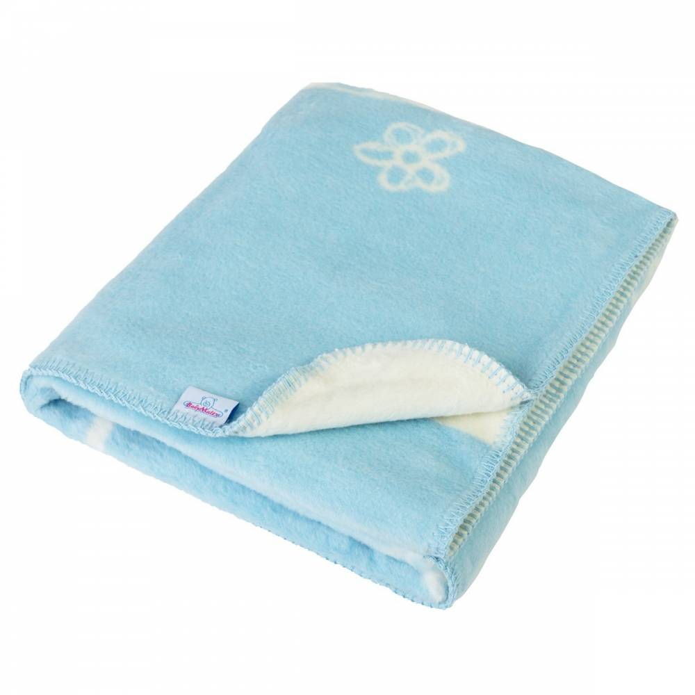 Babymatex Detská deka Teddy modrá, 75 x 100 cm