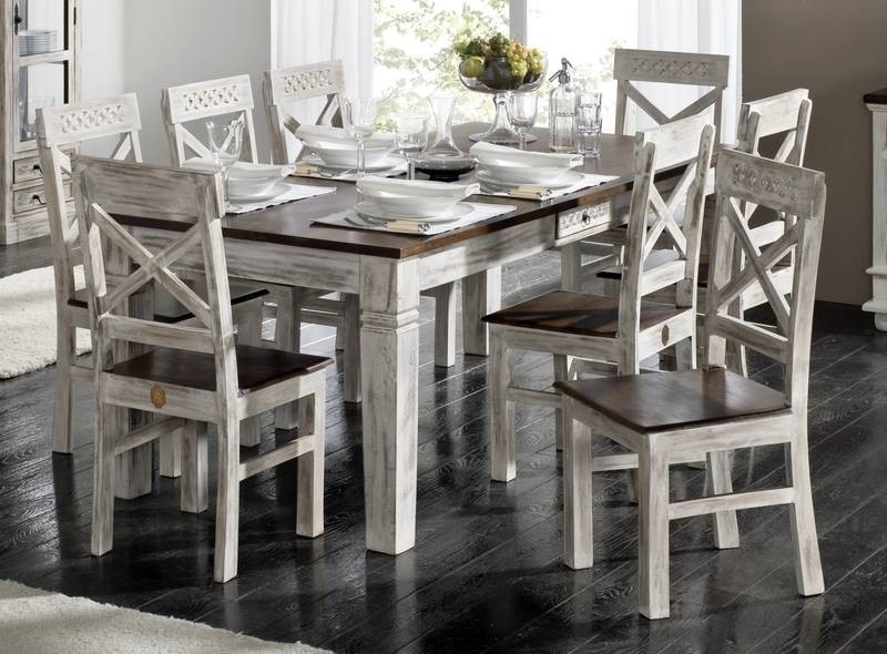 CASTLE-ANTIK jedálenský stôl #107 mango 150x90 cm