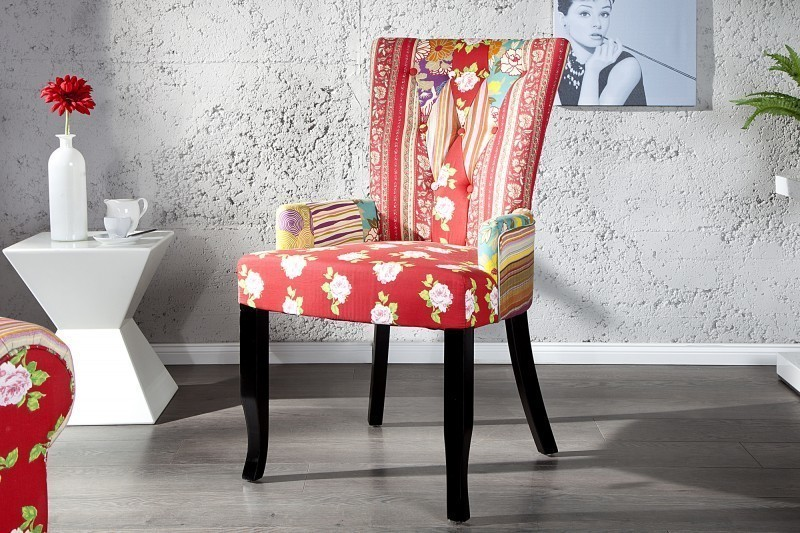 Stolička IBIZA CHAIR - červená